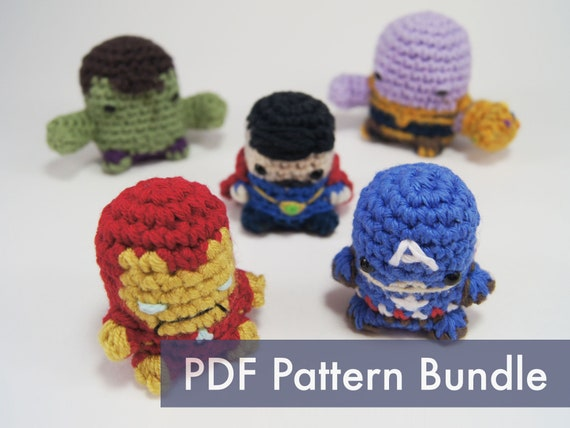 Avengers – Amigurumi Patterns | 428x570