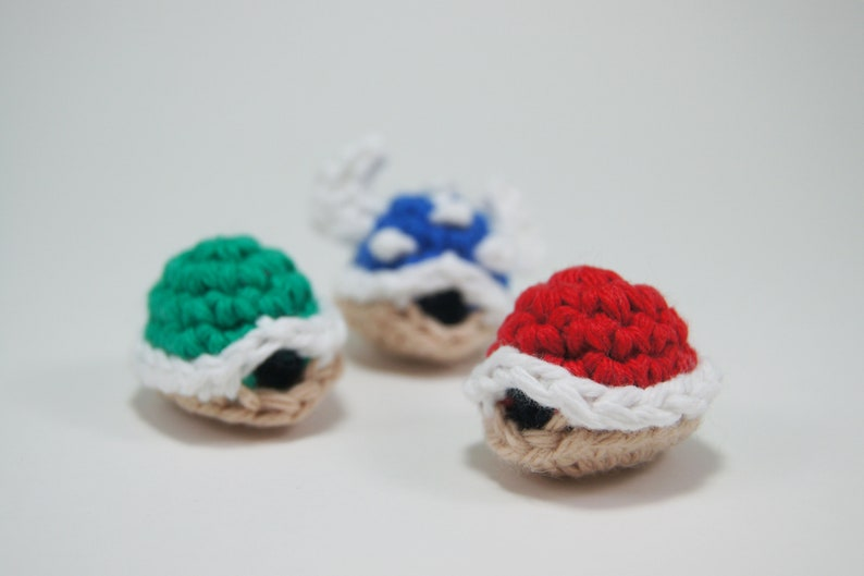 Crocheted Koopa Shell from Super Mario Bros image 0