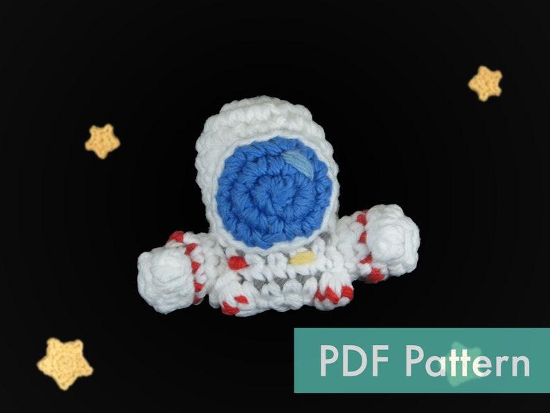 Astronaut Crocheted Amigurumi PDF Pattern image 0