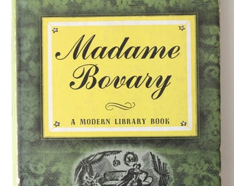 Madame Bovary by Gustave Flaubert Hardcover book Modern Library