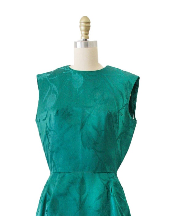 Green Vintage Asian Style Dress