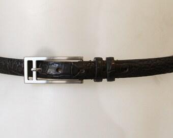 Vintage Kenneth Cole Genuine Italian Calfskin Belt