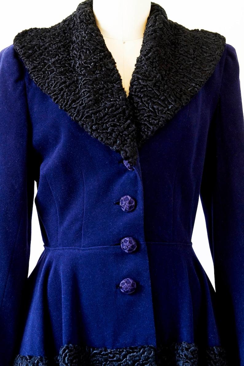 Midnight Blue Vintage Suit