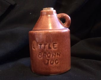 Little Brown Jug ~ Vintage ~ Stoneware