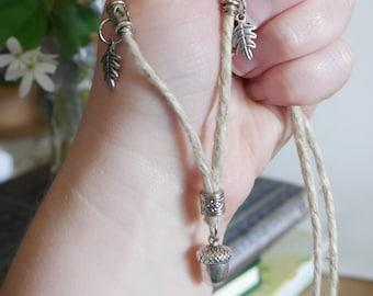 Dwarven-style Acorn Necklace