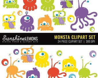 Ellie Art Elephant Clipart pack set of 30 | Etsy