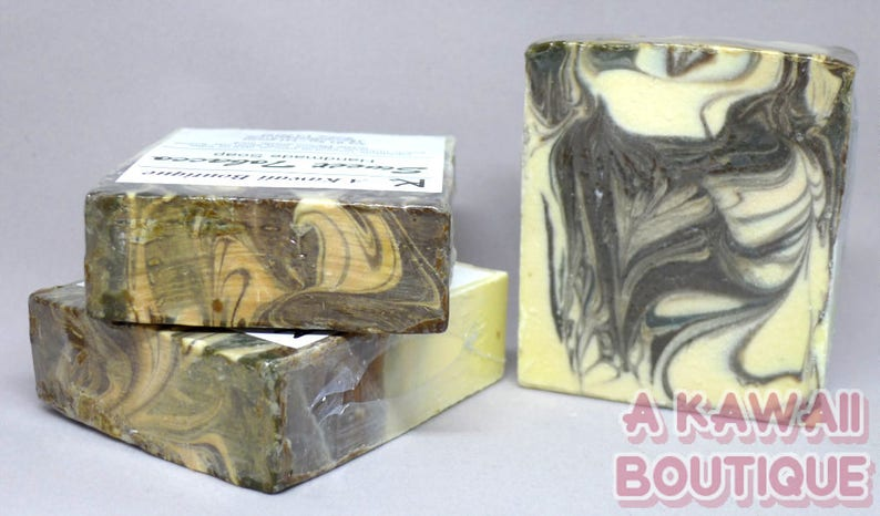 Sweet Tobacco  Handmade Cold Process Soap image 0