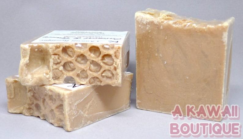 Oatmeal & Honey  Handmade Cold Process Soap image 0