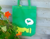 Reusable eco bag of the Perce Rock - medium - polypropylene - Green