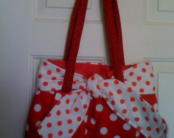EDS Handmade Handbags Cherry Cream