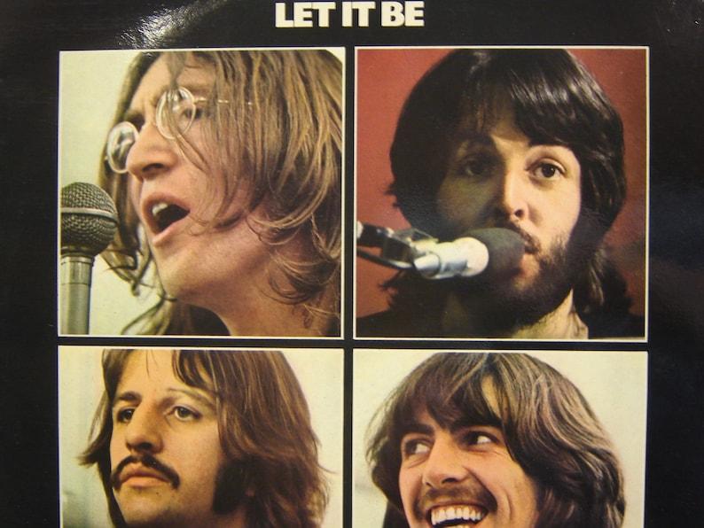 The Beatles - Let It Be LP (Rare UK White Vinyl) - Apple 1970 (1978  Pressing) - Vintage Vinyl LP Record Album