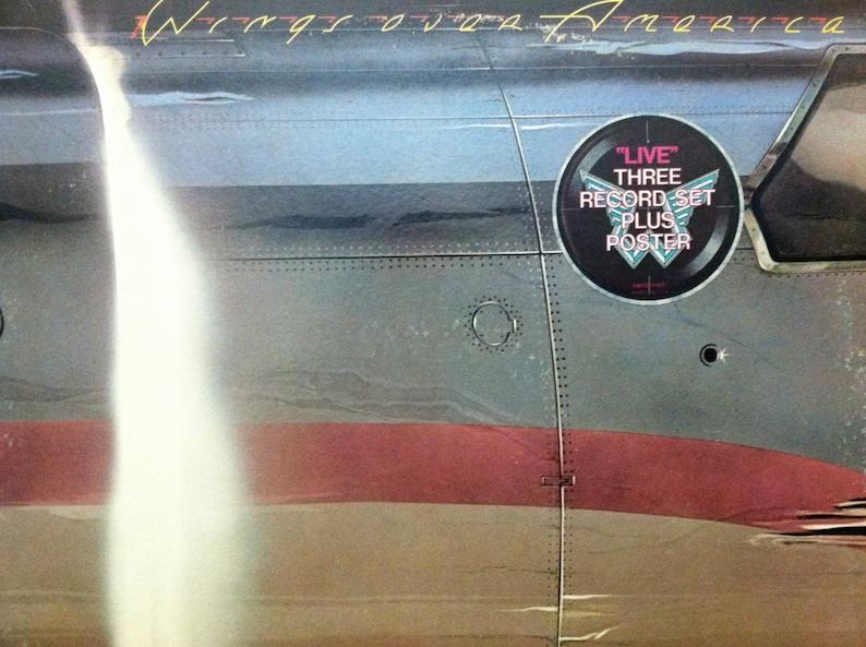 Paul McCartney / Wings - Wings Over America (Live Album) 3LP Set -  Capitol/MPL 1976 - Vintage Vinyl LP Record Album
