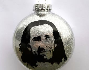 Nic Cage Cameron Poe And Con Air Christmas Ornament Perfect Gift For Dad Brother In Law Cousin Weird Best Friend Or Action Movie Fan