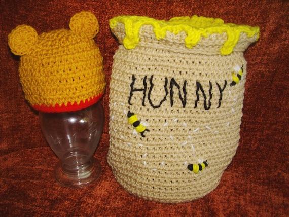 Häkelanleitung für Honigtopf und Hut zu tragen | Etsy