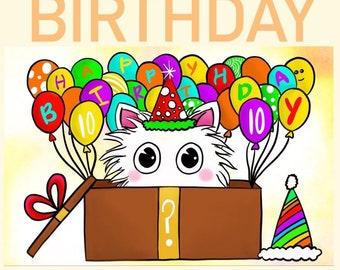 PRE-order MYSTERY birthday box!