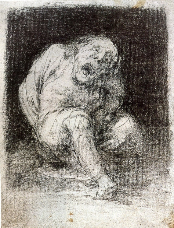 68 70 Goya Prints:The Witchcraft Caprichos Nos 69 Set 1: 3 Fine Art Prints
