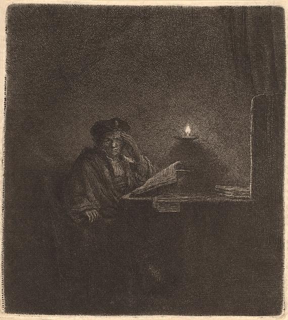 Man in Oriental costume Van-Go Paint-By-Number Kit Turk by Rembrandt