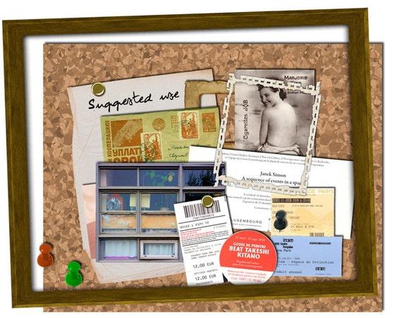 Kit digital tableau bureau liege à imprimer pour scrapbooking etsy