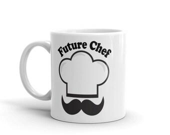 Future Chef Mug,Chef Student Gift, Cookery school, Cooking school, Culinary school, Aspiring Chef gift, Gift For Cook, Gift Mug,Sous Chef