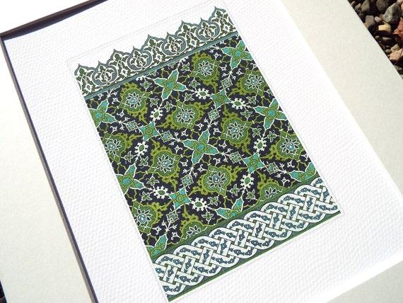 Set di disegni di piastrelle marocchine in indaco blu navy etsy