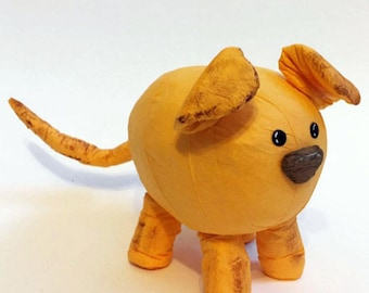 Yellow Dog Surprise Ball