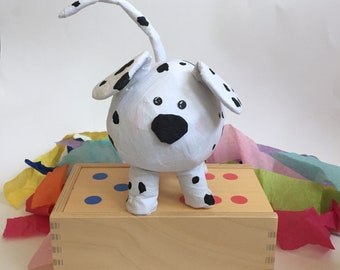 Dalmatian Dog Surprise Ball