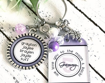Personalized Football Keychain for Mom Football Mom Jewelry  b63f1abc4a
