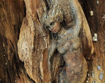 Dive Into Your Own Secrets, Driftwood Woman, By Debra Bernier, ShapingSpirit