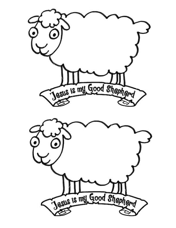 photograph relating to Sheep Craft Printable referred to as Preschool Kindergarten Sheep Craft Printable for Sunday Faculty, Non secular Training