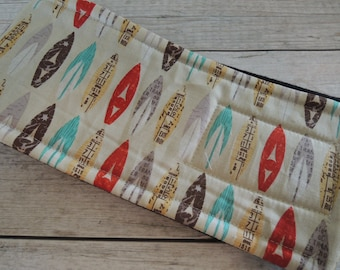 Dog Diaper Belly Band, Surfboard Fabric, Personalized, FAST Shipping
