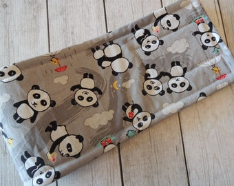 Dog Diaper Belly Band, Panda Fun Fabric, For Male Dogs, Personalized, FAST Shipping