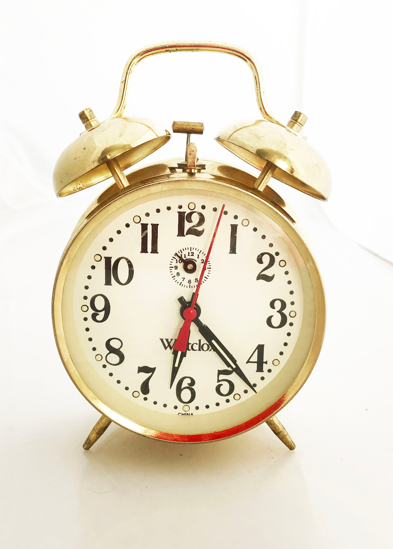 Alarm Clocks & Clock Radios Home, Furniture & Diy Objective Westclox Quartz