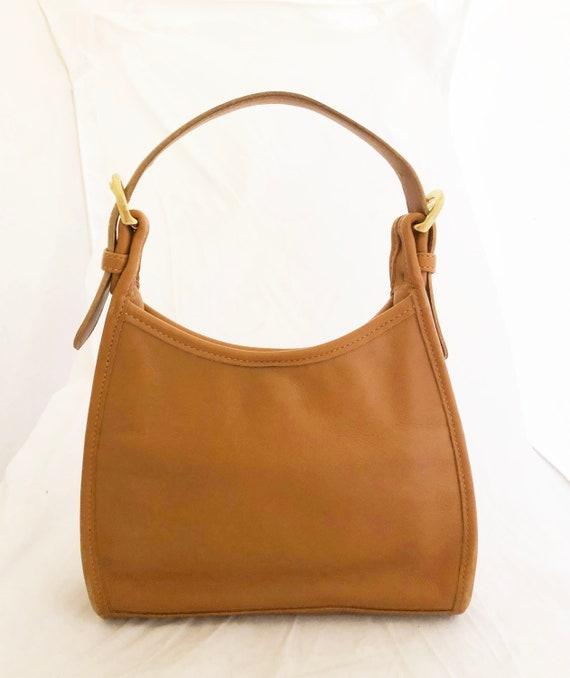 e51d626a8c757 COACH Purse Small Soho Hobo Tan Handheld Bag 4106 | Etsy
