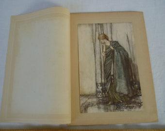 Arthur RACKHAM wood art Magnet Gift SET Fairy tale MERMAID