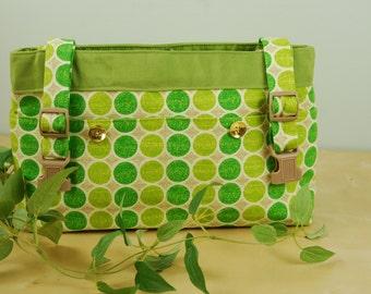 Powerchair Bag, Wheelchair Purse, Walker Organizer, Wheel Chair Accessory :  Bright and Fun Spring Green Bag.  A definite pick me up!!!