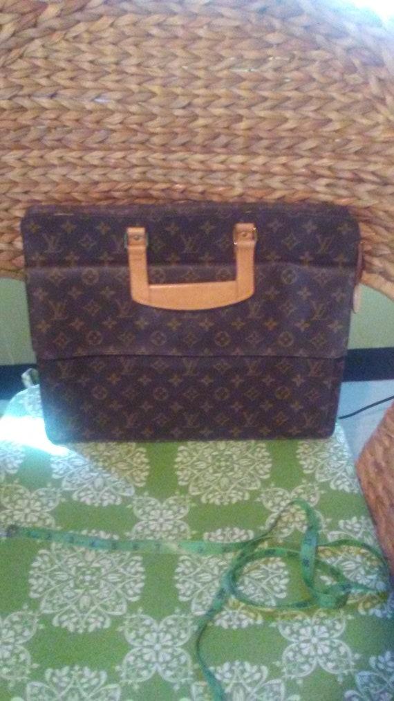 Authentic Louis Vuitton briefcase attache