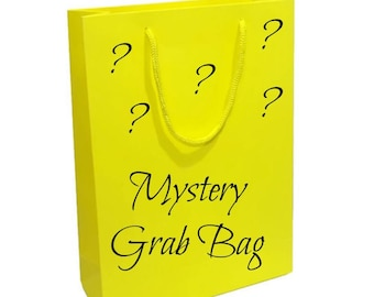 Mystery Grab Bag - Random Assortment of Hair Bows, Headbands, Hair Clips, Clippies, Ribbon Sculptures - You Choose Bag Value - Gift - Girls