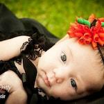 Baby Halloween Headband - Pumpkin Headband - Halloween Korker Bow Headband - Pumpkin - Orange Headband - Infant - Halloween Hair Bow