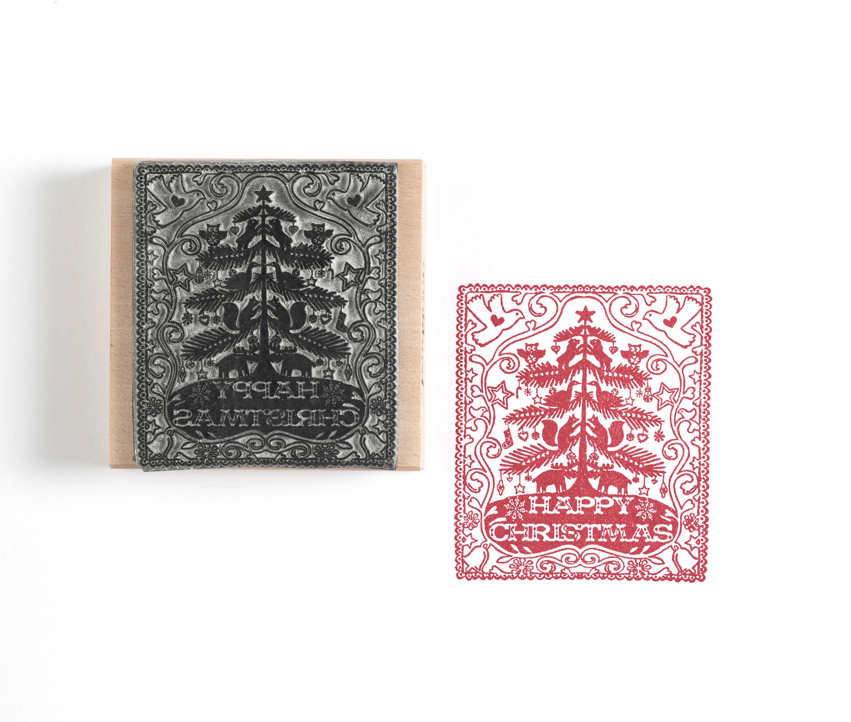 Weihnachtsbaum-Stempel Weihnachts-Stempel | Etsy
