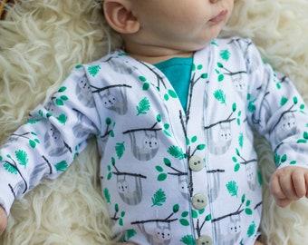 ee8c4c81c Baby cardigan onesie