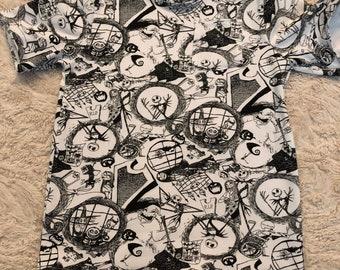 Skellington Shirt, Boys Shirt, Disney Shirt, Toddler Shirt, Halloween Shirt, Nightmare Before Christmas, Skellington, Oogie Boogie Shirt