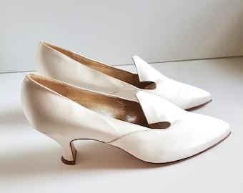 91f51e8865e9 Vintage Peter Fox Wedding Shoes