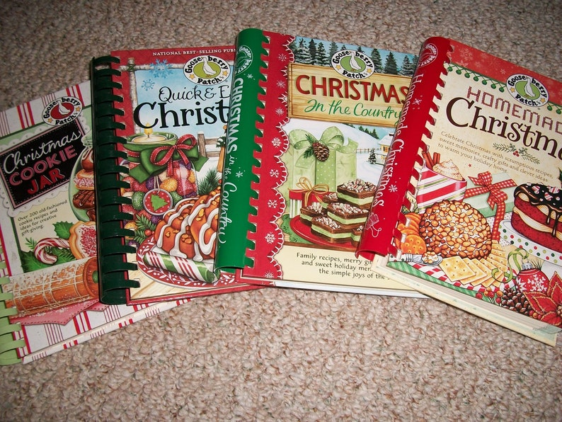 Quick Easy Christmas Christmas Cookie Jar Christmas In The Country Or Homemade Christmas By Gooseberry Patch Cookbook Holiday Recipes