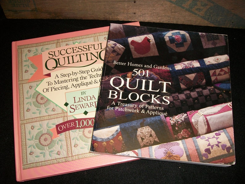 Set of quilting books successful quilting and quilt etsy