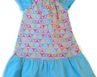 Little Girl Dress, Girl Clothing, Girl Peasant Dress, Toddler Peasant Dress, Girl Dress, Little Girl Clothing, Toddler Dress, Girl Dress