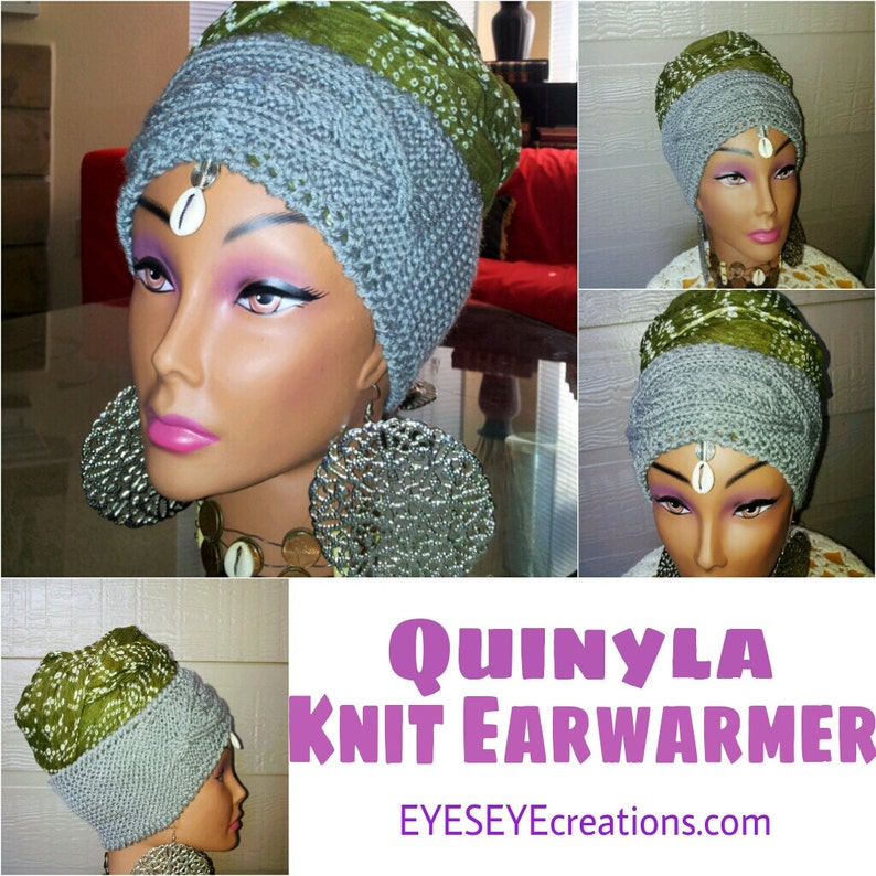 The QUINYLA Knit Ear Warmer image 0