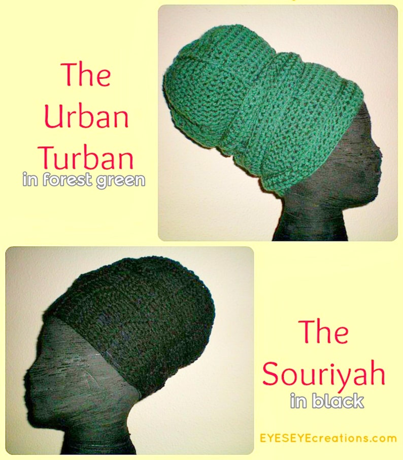 A Souriyah Wrap and an Urban Turban How-To video link image 0