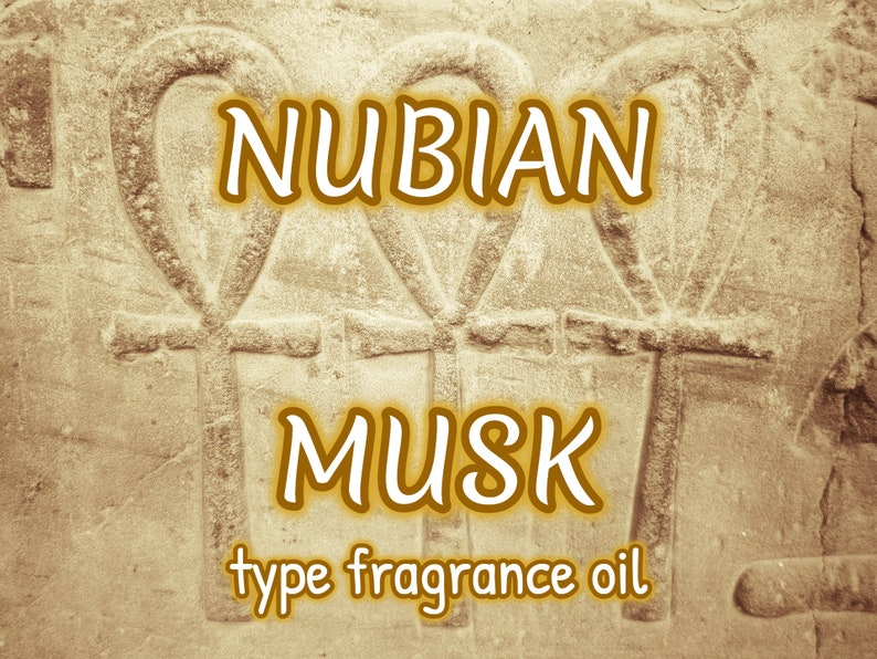 NUBIAN MUSK type Fragrance Body Oil image 0