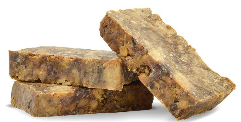 100% Raw African Black Soap image 0