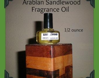 ARABIAN SANDLEWOOD Fragrance Body Oil 1/2 ounce (oz)